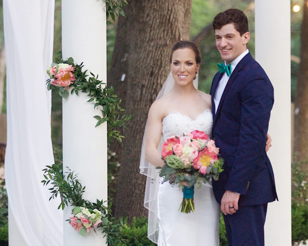 H‑E‑B BLOOMS Small Garden Wedding Venue in San Antonio Affordable Wedding