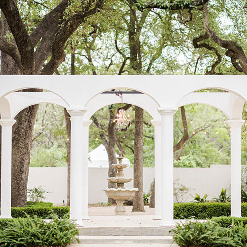Outdoor Garden Wedding Venue