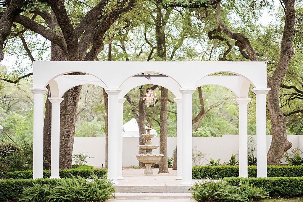 Outdoor Garden Wedding Venue